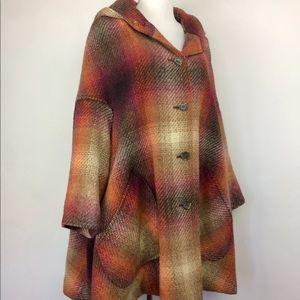 Irish cape coat
